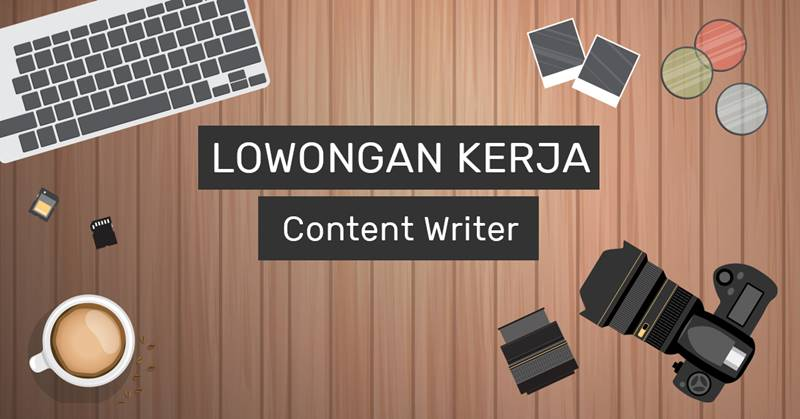 lowongan konten writer